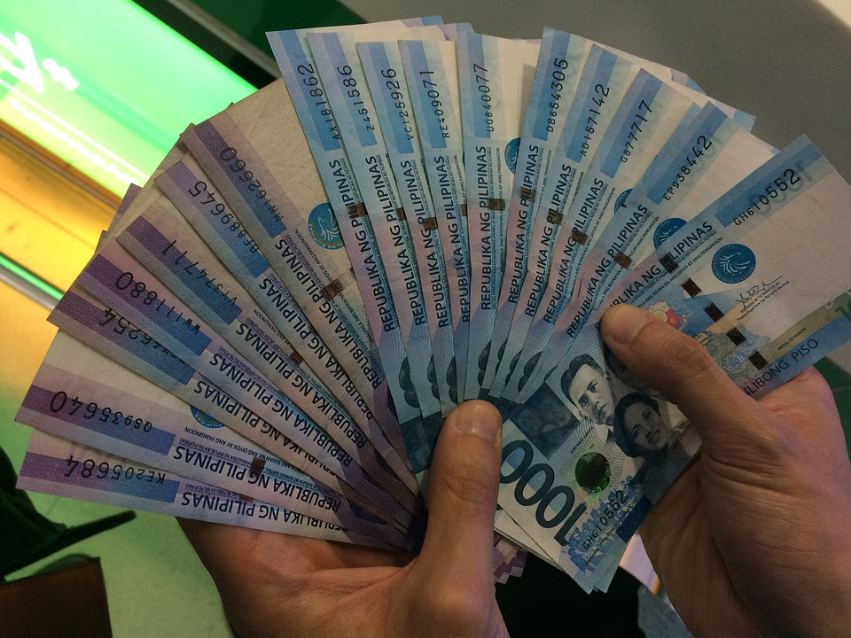 filipínské peníze
