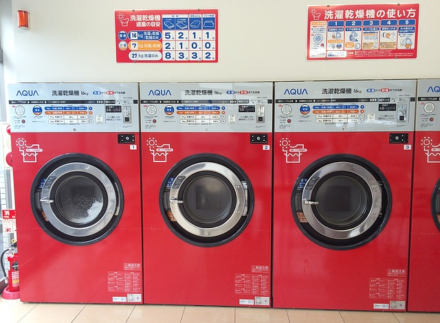 pračky v prodejně