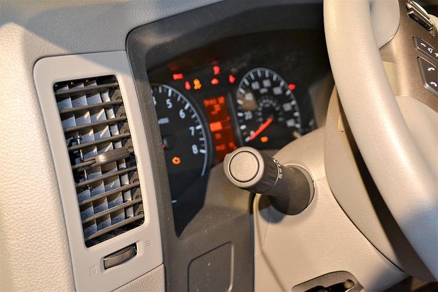 ventilace auta