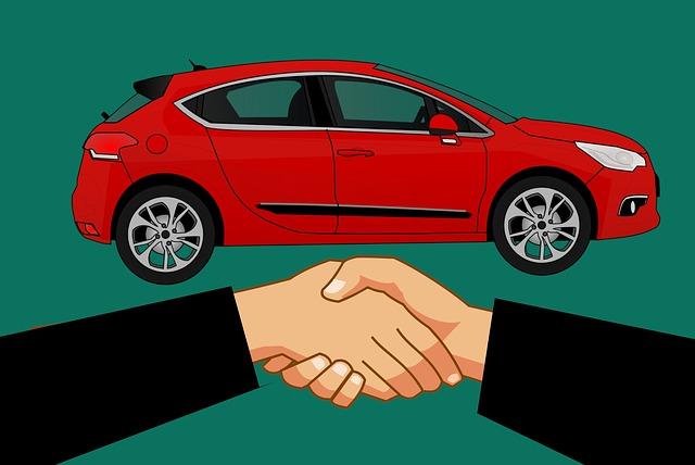 dohoda o koupi auta
