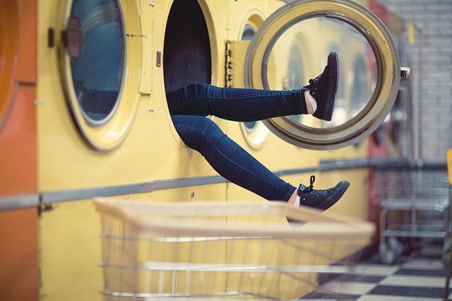 nohy z pračky