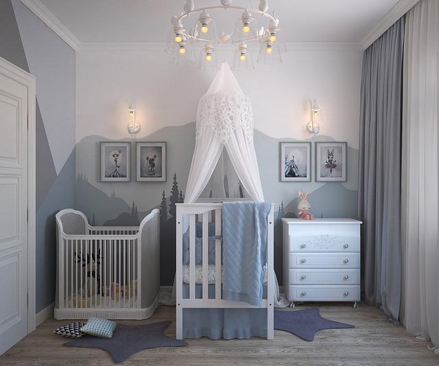 dětský pokoj pro miminko
