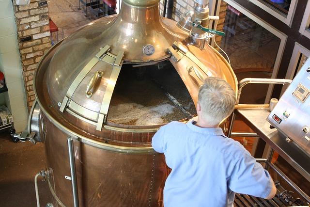 Proces kvašení při výrobě piva